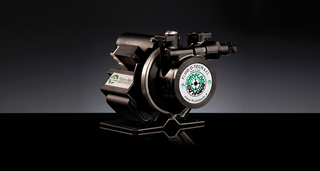 THE NEW MAGNET DRIVE ROTARY VANE PUMP-MOTOR UNIT PMFR SERIES