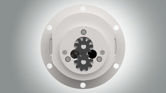Magnet drive external gear pump