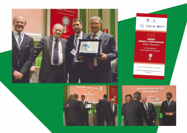 ENTERPRISE FOR INNOVATION AWARD ANDREA PININFARINA 2014