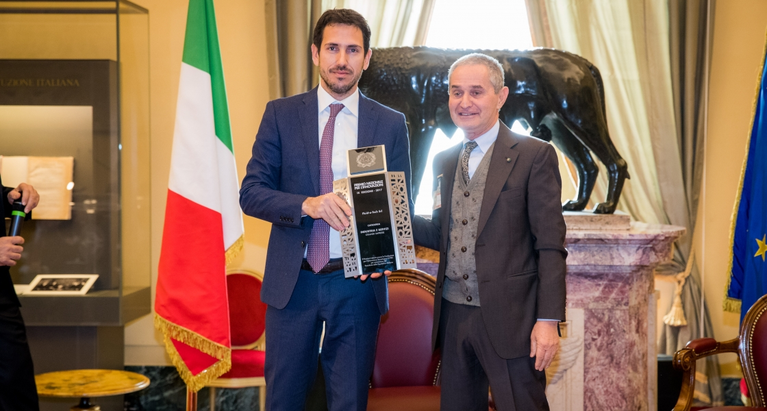 FLUID-O-TECH WINS THE 2017 CONFINDUSTRIA BUSINESSES FOR INNOVATION AND IS AWARDED IL PREMIO DEI PREMI