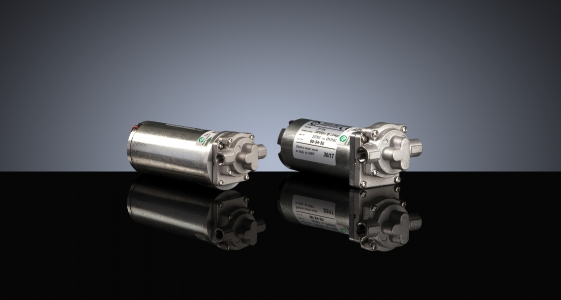 The new gear pump-motor unit <br> DGD PRO
