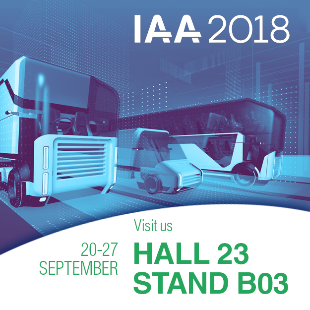 We are at IAA Commercial Vehicles 2018